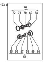 Насос центробежный Comet® серия C610H-PTO с мультиплекатором (655 л/мин; 11,8 бар) + патрубки